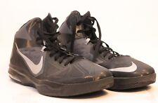Nike Air Max Body U TB Black/Silver Men's Basketball Shoes 599418-002 Sz 18 52.5