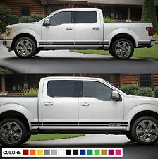 Decal Sticker Vinyl Side Stripes for Ford F150 Bed Rocker 2009-2017 Grill Light