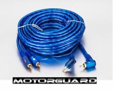 CAR VAN AMP AMPLIFIER PROFESSIONAL SERIES RCA PHONO LEAD CABLE 5M METER SHIELDED