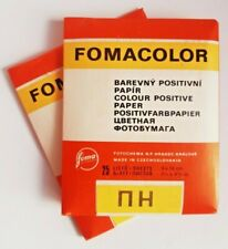 """Paper Photographic COLOR VINTAGE """"FOMACOLOR"""" 25 sheets 9x12cm glossy (2 pack)"""