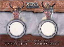 Xena Beauty & Brawn Gabrielle & Aphrodite DC6 Costume Card