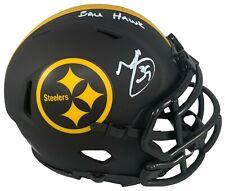 Minkah Fitzpatrick autographed signed inscribed Eclipse mini helmet Steelers BAS