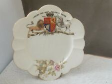 1897 PLATE TO COMMEMORATE QUEEN VICTORIAS' 60 YEARS REIGN BY FOLEY CHINA