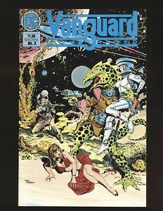 Vanguard Illustrated # 3 - Williamson cover NM- Cond.