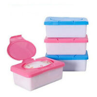 Napkins Baby Wet Wipes Tissue Paper Travel Box Case Holder Dispenser Container
