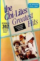 The Chi-Lites ‎.. Greatest Hits .. Import Cassette Tape