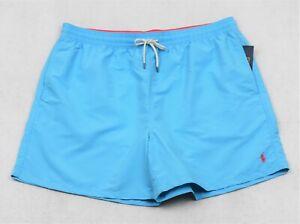 Polo Ralph Lauren Swim Swimming Shorts Margie Blue Size 3XB 3X Big Tall NWT