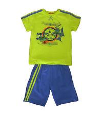 Conjuntos niño de Kemaku, pantalones cortos y camisetas , verde ,talla 2