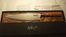 "Boker Yadama Damascus Olive 8"" Chef Knife - 33 Layers VG-10  - NOS - 130441DAM"