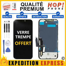 POUR IPHONE XR ECRAN LCD QUALITE ORIGINAL VITRE TACTILE COMPLET NOIR + OUTILS