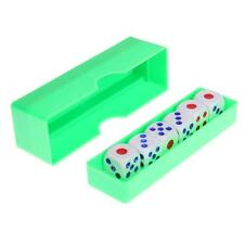 Six Dice Prediction Box 6 Die Flash Change Effect Close Up Magic Trick Props