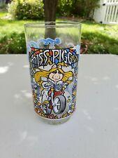 Vintage Muppets Miss Piggy Drinking Glass McDonald's