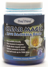 More details for pond friend live bacteria filter boost gel balls 6 pack reduce ammonia nitrite