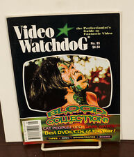 VIDEO WATCHDOG ISSUE #95 BLOOD COLLECTION-CAT PEOPLE-UFO-DARK WATER NM/MINT