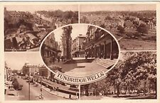 Postcard - Tunbridge Wells - 5 views (Publisher S&E)  (A)