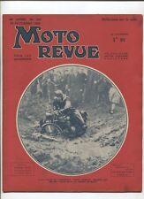 Moto Revue N°820 ; 25  novembre 1938  : le salon de Londres 8 croquis
