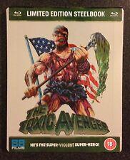 THE TOXIC AVENGER Blu-Ray SteelBook Zavvi UK 88 Films Region ABC 1/2500 OOP Rare