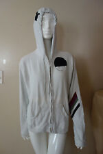 Free City Zip Up Cotton Off/White Hoodie Size 2=M New with defects