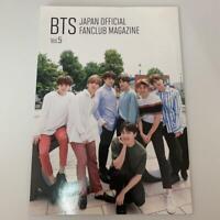 BTS Japan Official FanClub FC Limited Magazine Vol.5 Photo Book Music KPOP