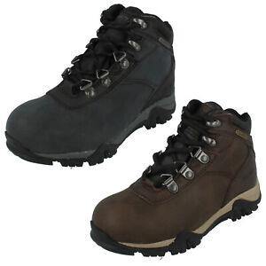 Boys Hi Tec Lace Up Casual Ankle Boot Dri-Tec Waterproof Altitude V WP JR