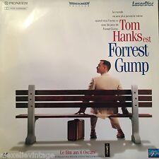 LASERDISC - FORREST GUMP -TOM HANKS - VF PAL WS