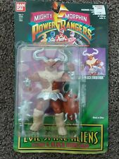 "1994 ""MIGHTY MORPHIN POWER RANGERS"" (SLASH & BLOCK MINOTAUR) Figure, NEW!"