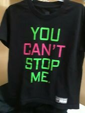 "WWE John Cena ""You Can't Stop Me "" t shirt Youth Small"