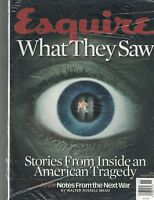 Esquire Magazine November 2001 What They Saw September 11 WTC