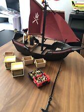 Playmobil Vintage Ship And Treasure