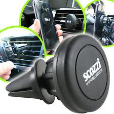 scozzi 360° Universal Auto Lüftungs-Halterung KFZ Handy Navi Magnet PKW Halter