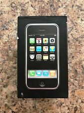 COLLECTABLE Apple iPhone 1st Gen - 8GB - Black A1203 (GSM) WITH MATCHING BOX.