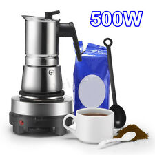 Portable 500W Electric Mini Stove Hot Plate Multifunction Cooking Coffee