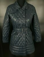 Authentic Calvin Klein Jeans GIRLS Quilted Coat Jacket Puffer Size 10 140cm Blue