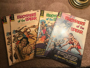 Brothers Of The Spear Comic Lot - 1972 (2)#2 -3-4 Issues