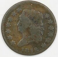 1812 Classic Head Large Cent. Small Date. RAW4360/CN