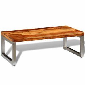 vidaXL Sheesham Holz Massiv Beistelltisch Couchtisch Wohnzimmertisch Tisch