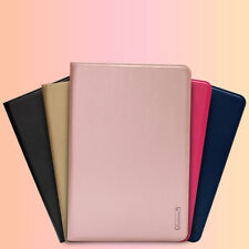 Leather +TPU Magnetic Smart Wallet Flip Cover Case For iPad 2 3 4 Air Mini Pro