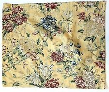 NEW Pottery Barn Elodie Standard Pillow Sham Yellow Red Floral