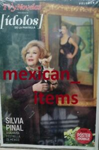 SILVIA PINAL  IDOLOS SPECIAL MEXICAN MAGAZINE ALL ABOUT HER TVYNOVELAS 2021