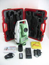 "LEICA TS02 7"" TOTAL STATION, FOR SURVEYING, ONE MONTH WARRANTY"