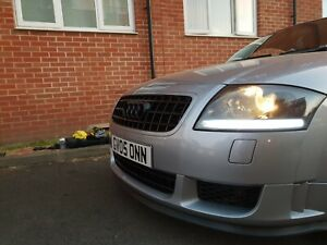 Audi TT MK1 Headlight Clear Indicator Lenses, clear or tinted (clear corners)