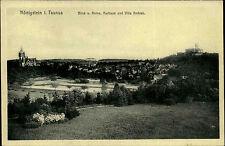 KÖNIGSTEIN Taunus Hessen AK um 1910 Partie mit Villa Andraè, Blick von der Ruine