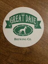 Great Dane Brewong Co Coaster