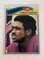 1977 Ahmad Rashad # 359 Minnesota Vikings Topps NFL Football Card