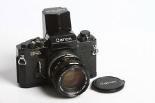Canon F-1 + Canon Speed Finder + Canon Lens FD 1,4/50 S.S.C.