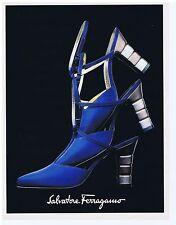 PUBLICITE ADVERTISING 094 1996 SALVATORE FERRAGAMO chaussures pour femme