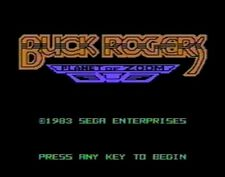 Buck Rogers: Planet of Zoom (TI-99/4a, 1983) (SPEECH) ON FLOPPY DISK &  MAN COPY