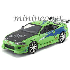 JADA 97603 2001 FAST AND THE FURIOUS BRIAN'S 1995 MITSUBISHI ECLIPSE 1/24 GREEN