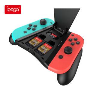 Nintendо Switch Joy-Con Game Joystick Controller Charging Hand Grip Card Slot
