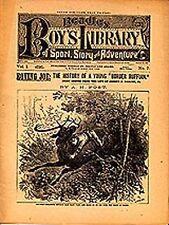 dime novel; BEADLE'S BOY'S  LIBRARY #7: Roving Joe; The History of a Young Borde